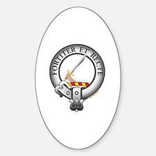 Elliott Clan Sticker (Oval)