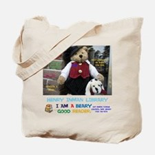 I AM A BEARY GOOD READER. HENRY INMAN LIB Tote Bag