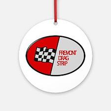 Fremont Drag Strip Round Ornament