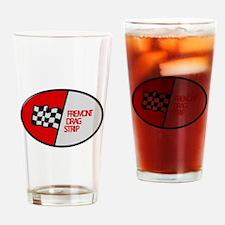 Fremont Drag Strip Drinking Glass