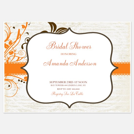 5x7 Flat Cards Invitations