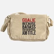 Badass Goalie Messenger Bag