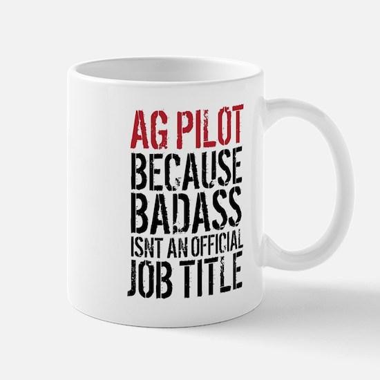 AG Pilot Badass Mugs
