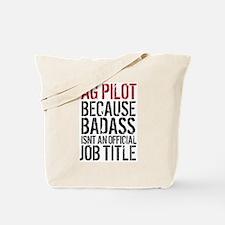 AG Pilot Badass Tote Bag