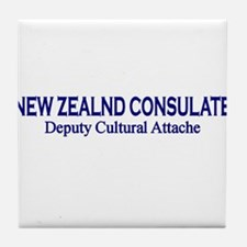 New Zealand Consultate: Deput Tile Coaster