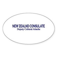New Zealand Consultate: Deput Oval Decal