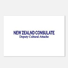 New Zealand Consultate: Deput Postcards (Package o