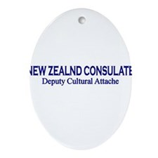 New Zealand Consultate: Deput Oval Ornament