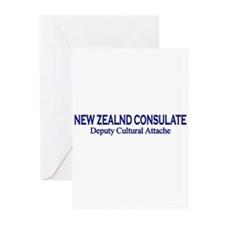 New Zealand Consultate: Deput Greeting Cards (Pk o