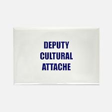 Deputy Cultural Attache Rectangle Magnet