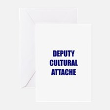 Deputy Cultural Attache Greeting Cards (Pk of 10)