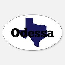 Texas - Odessa Decal