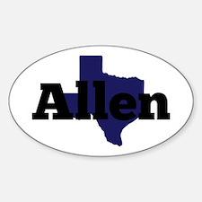 Texas - Allen Decal