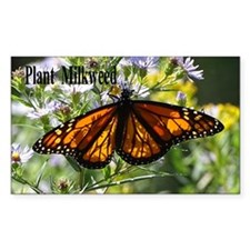 Sunshine Monarch Butterfly Decal