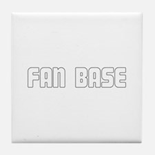 Fan Base Tile Coaster