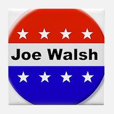 Vote Joe Walsh Tile Coaster