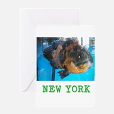 New York Avins Fish. Card Greeting Cards