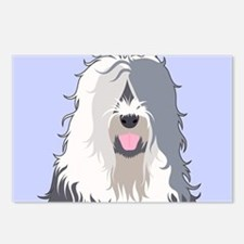 Old English Sheepdog Postcards (Package of 8)