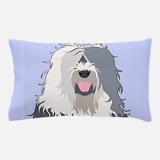 Old English Sheepdog Pillow Case