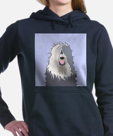 Old English Sheepdog Women's Hooded Sweatshirt