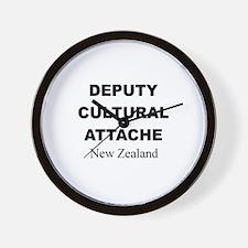 Deputy Cultural Attache: New Wall Clock