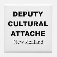 Deputy Cultural Attache: New Tile Coaster