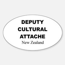 Deputy Cultural Attache: New Oval Decal