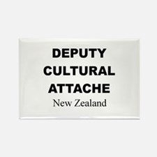 Deputy Cultural Attache: New Rectangle Magnet