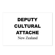 Deputy Cultural Attache: New Postcards (Package o