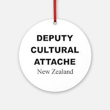Deputy Cultural Attache: New Ornament (Round)