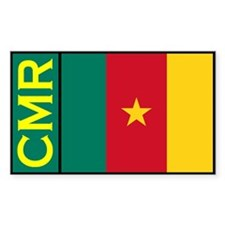 Cameroonian Decals Rectangle Decal