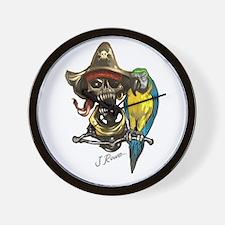Unique Pirate humor Wall Clock