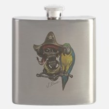 Unique Jolly roger Flask