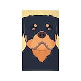Rottweiler 3x5 Rugs