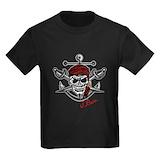 The pirate bay Kids T-shirts (Dark)