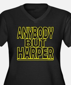Anybody But Harper Plus Size T-Shirt