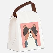 Papillon Canvas Lunch Bag