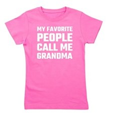 Cute Great grandmothers day Girl's Tee