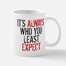 HTGAWM: It's Always Who You Least Expec Mug