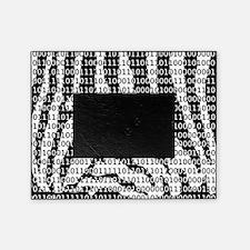 Zebra Binary Code Picture Frame