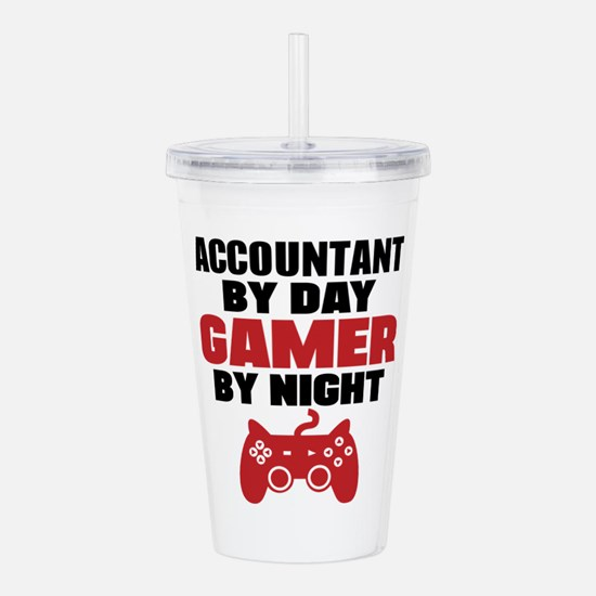 ACCOUNTANT BY DAY GAMER BY NIGHT Acrylic Double-wa