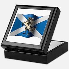 Unique Flag of scotland Keepsake Box