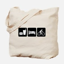 Eat, Sleep, Bike Tote Bag