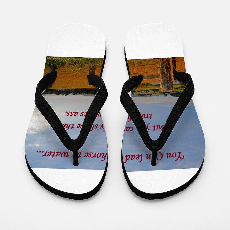 Golden Pasture Flip Flops