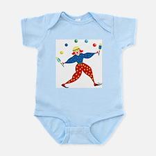 Juggler Clown Infant Creeper