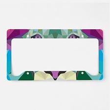 Rainbow Lion License Plate Holder