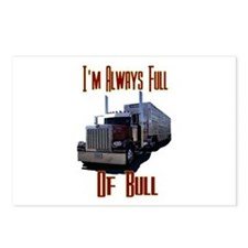 I'm Allways Full of Bull Postcards (Package of 8)
