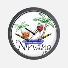 J Rowe Nirvana Cigars Wall Clock