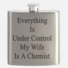 Everything Is Under Control My Wife Is A Che Flask