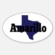 Texas - Amarillo Decal